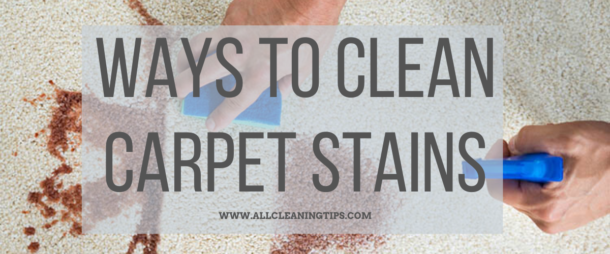 Way To Clean Carpet Stains